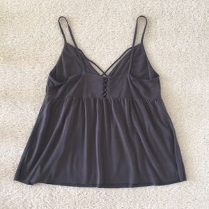 American Eagle Outfitters Tops - Soft Lace Up Tank Top - American Eagle